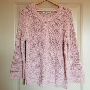 New Madewell Pink Pullover Knit Sweater